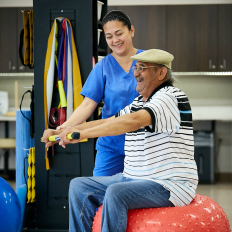 As a LIFE Program, Senior LIFE care plans may include rehabilitation therapy.