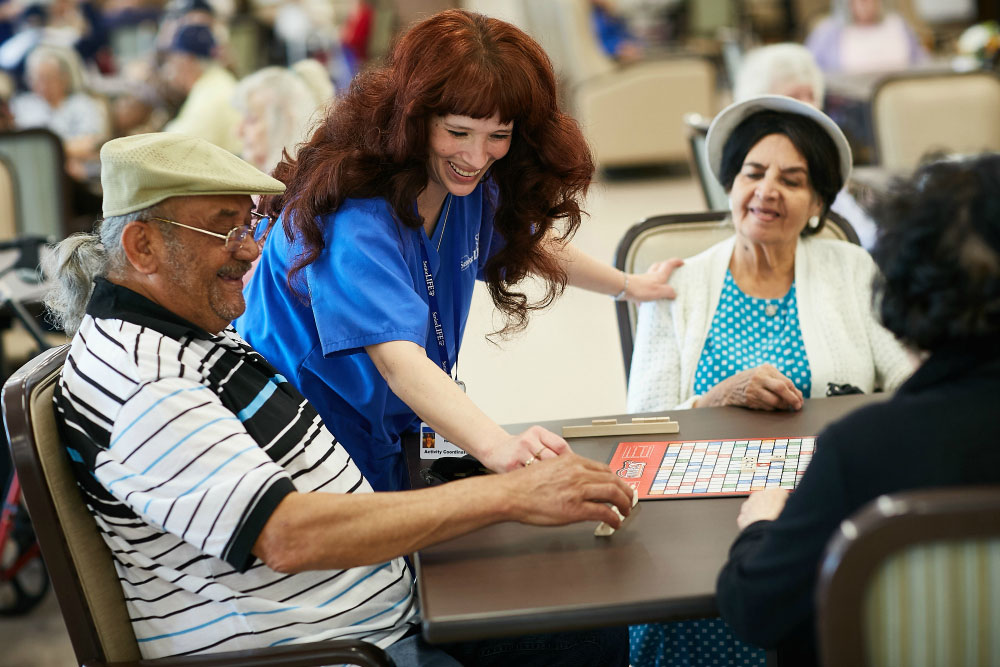 Senior LIFE offers services designed to help keep your aging loved one at home.