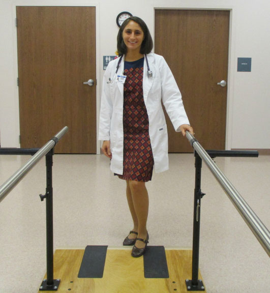 Dr. Lauren Massaro is the primary care physician at Senior LIFE Reading.