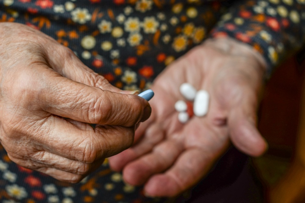 Medication management for seniors can be challenging.