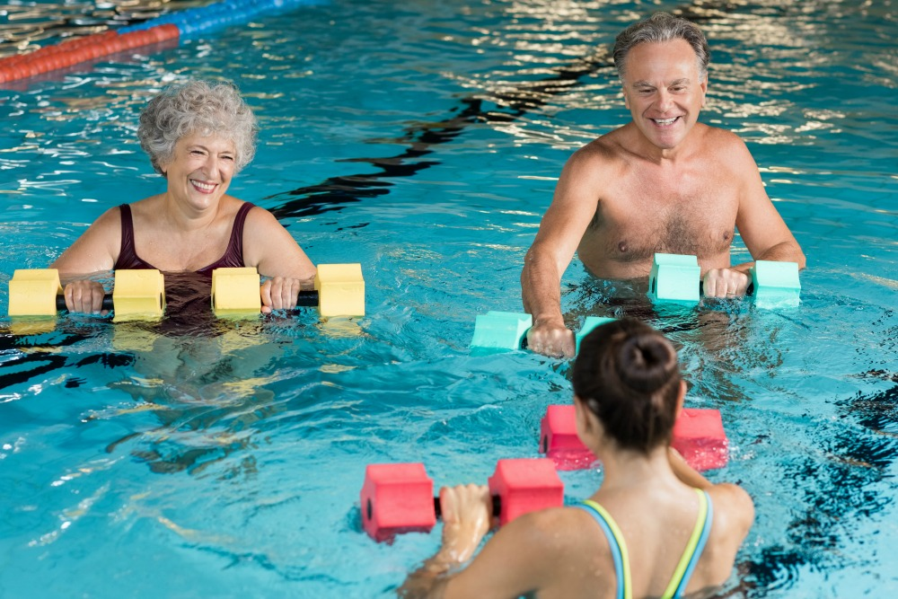 Exercise for arthritis helps increase quality of life.
