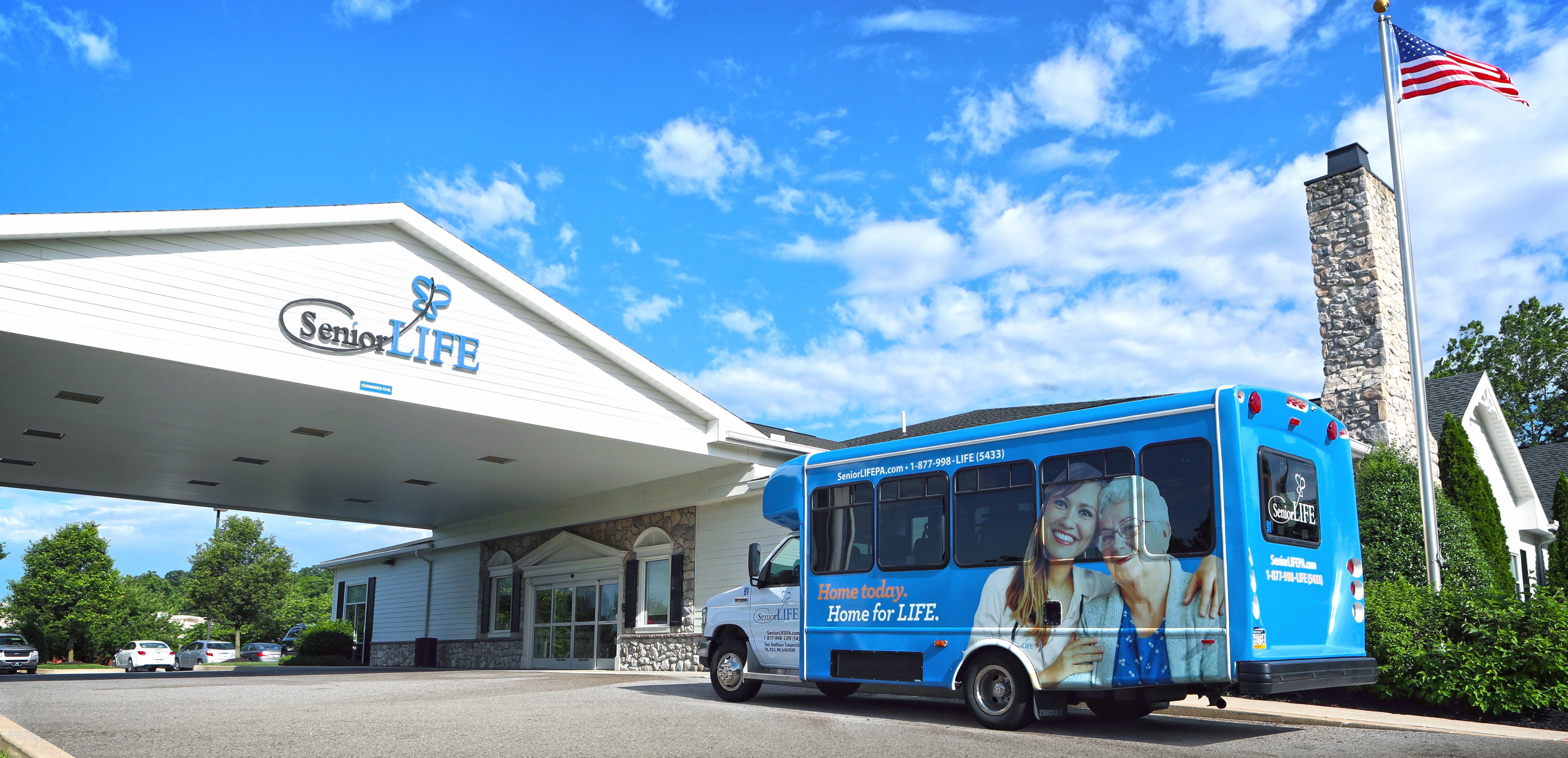 Look inside a Senior LIFE Health and Wellness Center.